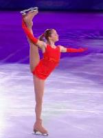 ソチ五輪エキシビジョンで人気のユリア・リプニツカヤちゃんが乳首ポチしながらお股大開脚