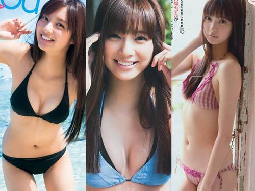 超人気スレンダーモデル!新川優愛(20)のグラビア画像×52