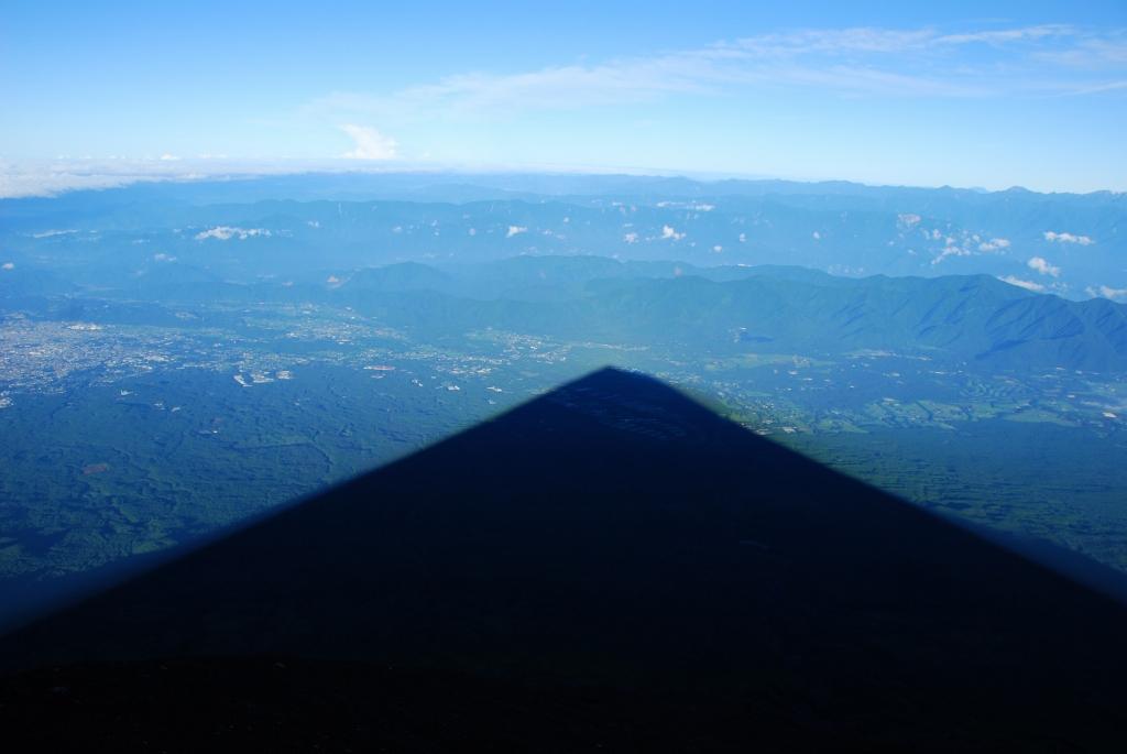 東京グルメ時々ファッション 富士山 もう一つの絶景 影富士