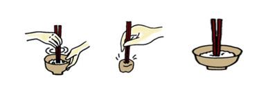 探り箸 刺し箸 仏箸