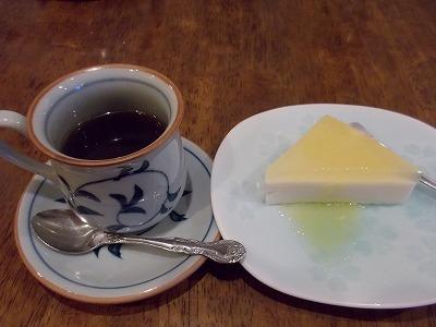 大豆コーヒーと豆乳ムース