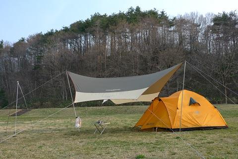 初キャンプ01