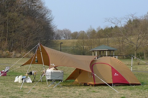 初キャンプ02
