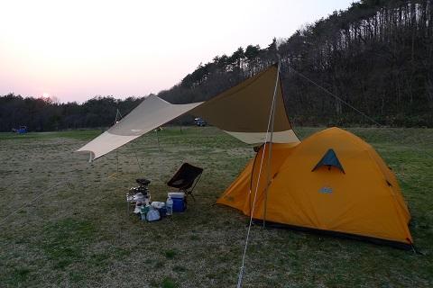 初キャンプ05