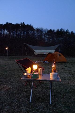 初キャンプ11