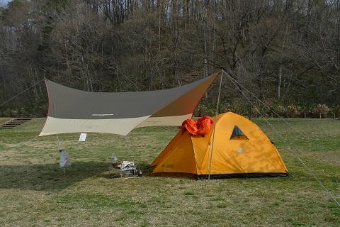 初キャンプ13