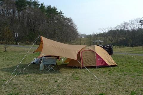 初キャンプ14