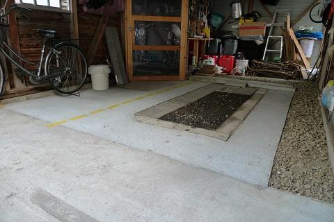 車庫コンクリ02