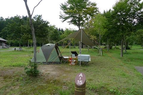 羽黒山キャンプ10