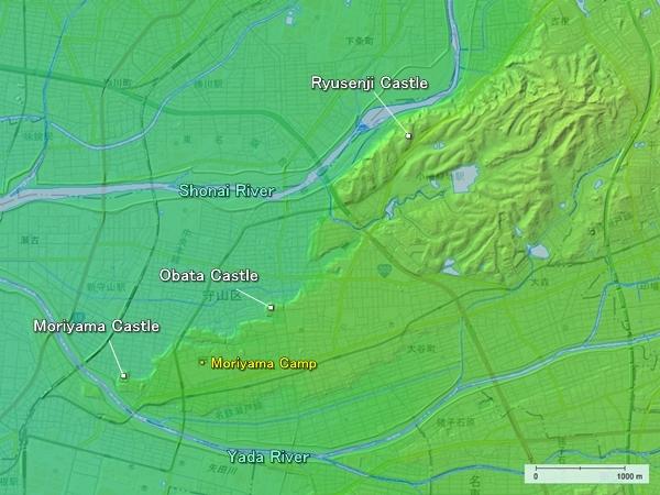 Moriyama Word topography