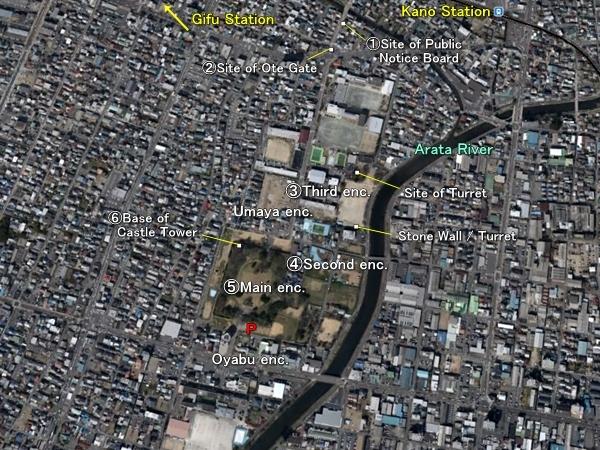 Kano Castle location