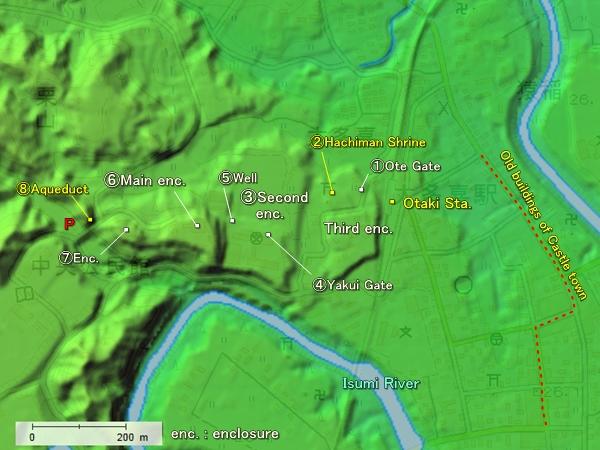 Otaki topography