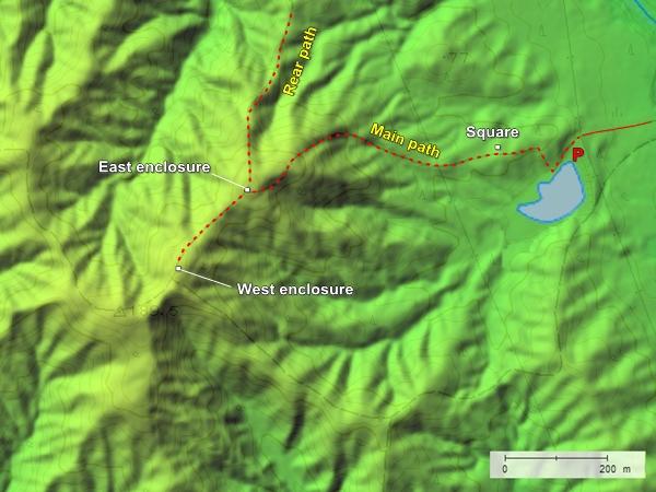 Shirihachi Residence topography