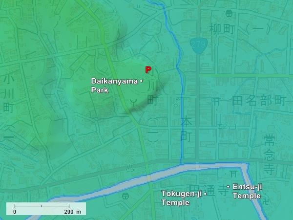 Tanabu Residence topography