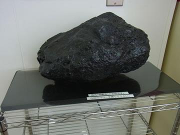 軍艦島の石炭