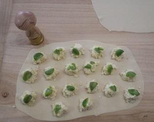 空豆のラビオリ1
