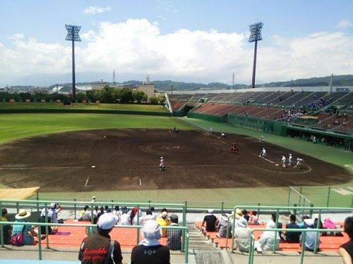 松本市野球場(高校野球)