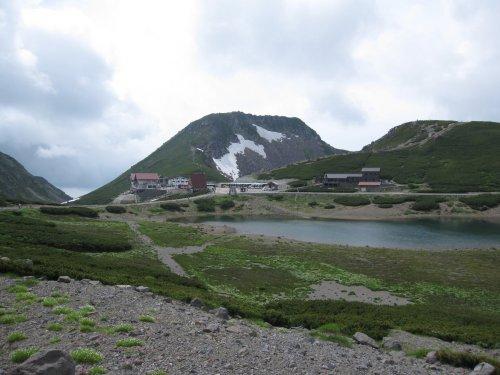 鶴ヶ池、恵比須岳