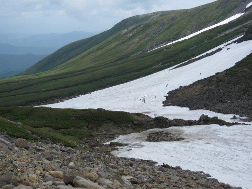 5大雪渓スキー