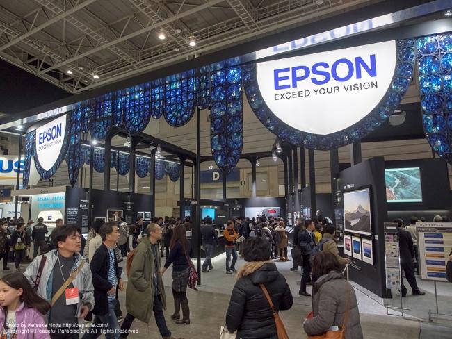CP+2014 エプソン ブース