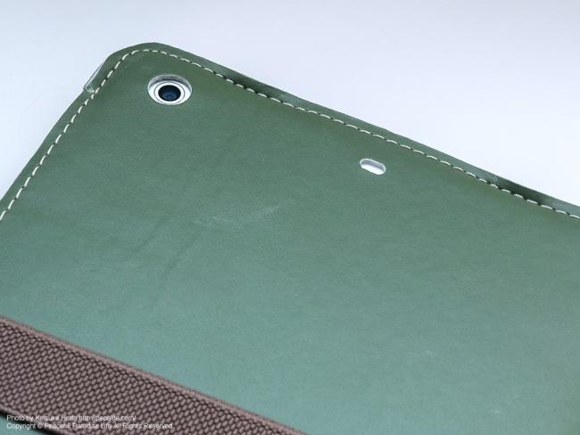 Simplism iPad mini Retina / mini用 28グラム フリップケース TR-SLCIPDMR-GR カメラ穴