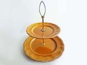 アフタヌーンティー2段皿