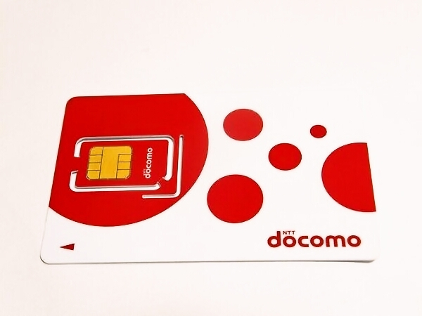 ドコモのSIMカード