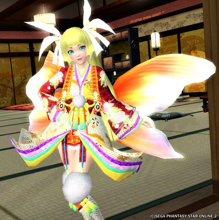 カグヤヒラリ金魚姫