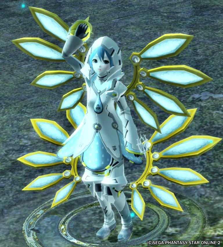 水の精霊、改め、雨水の妖精