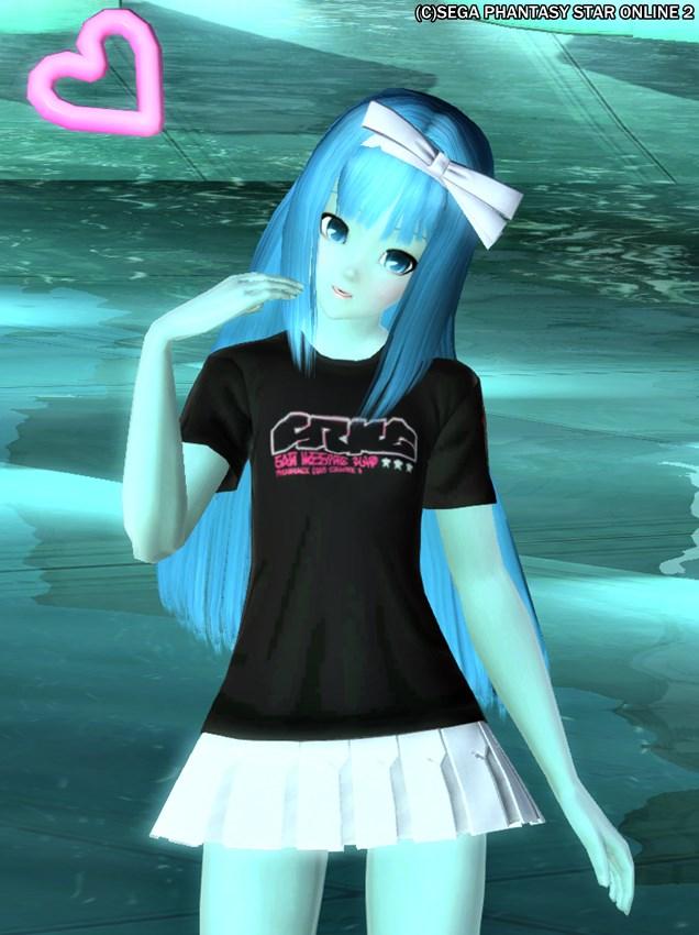 蒸し暑いので、涼しげな水の妖精でもどうぞ(^ω^)