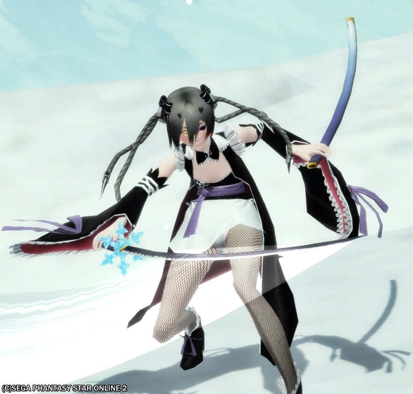 そういえば、*霊刀雪姫って大剣と刀で刀身が変わるんだね1
