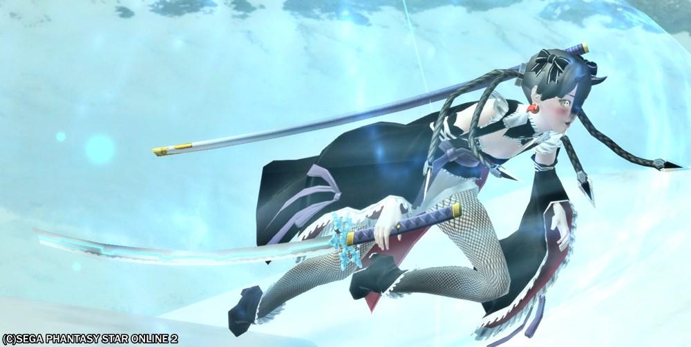 そういえば、*霊刀雪姫って大剣と刀で刀身が変わるんだね2
