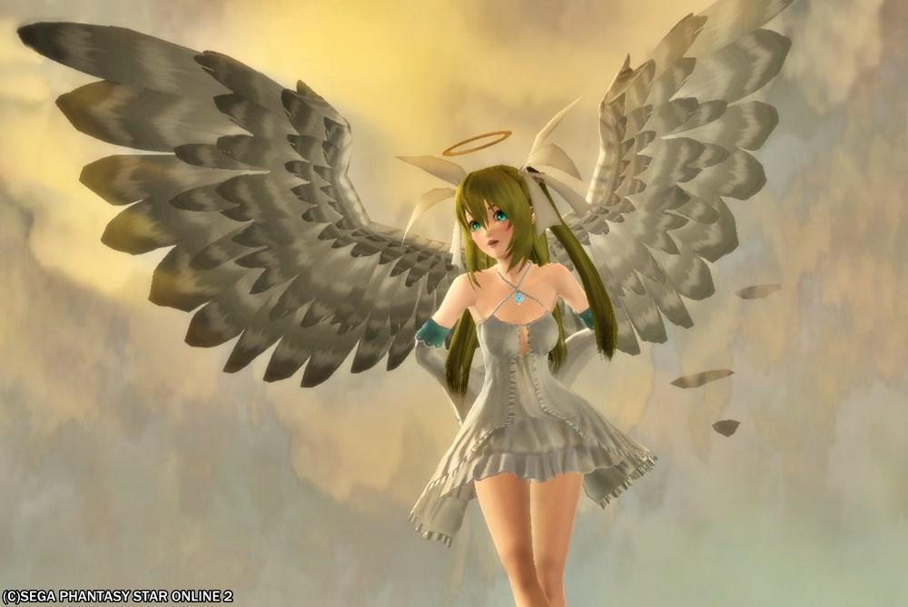 楽園の天使、サン (3)白白