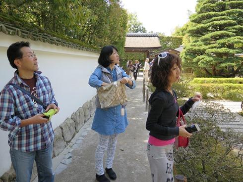 5)銀閣寺に来ました