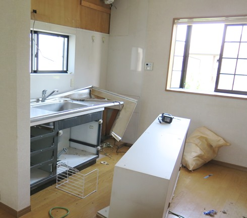 13)キッチン解体