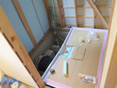 12)床下から西川社長のうめき声が・・・(笑)
