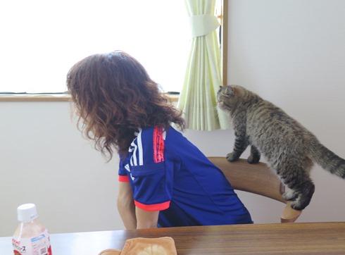 5)はちゅねと応援~!