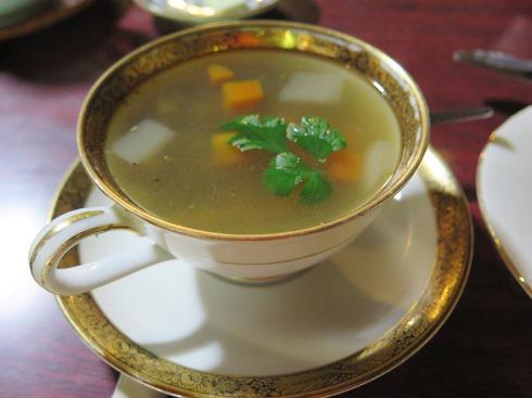 9)野菜soup玄米パン