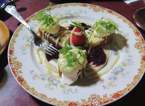 11)アップルケーキ