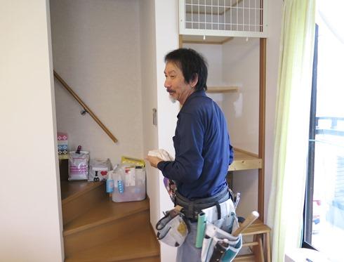 7)高田さんに棚を