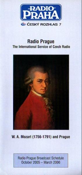 2005年10月~2006年3月(B05) Radio Prague(チェコ共和国)(英語) スケジュール表