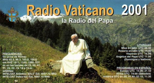 2001年バチカン放送 スペイン語カレンダー