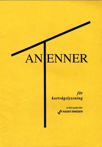 ANTENNER RADIO SWEDEN