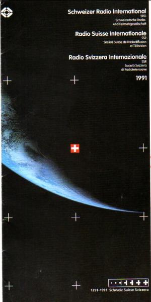 1291-1991 Swiss Radio International