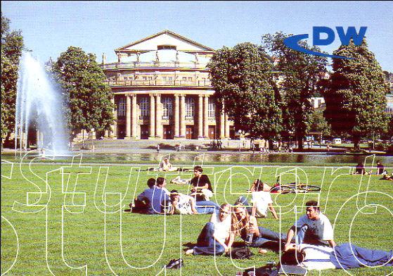2014年5月7日受信 Deutsche Welle(ドイツ)のQSLカード(受信確認証)