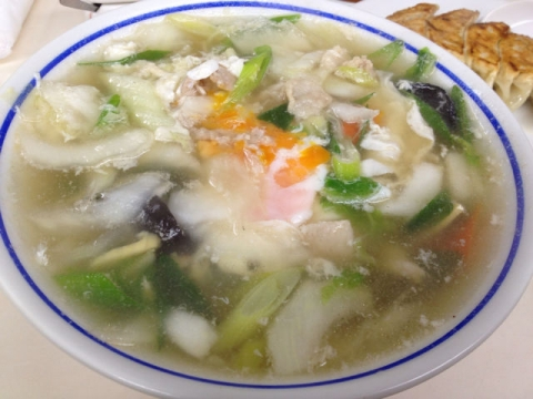 草魚 ラーメン