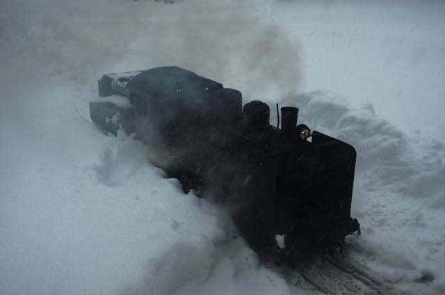 C56 129 雪上 走れ