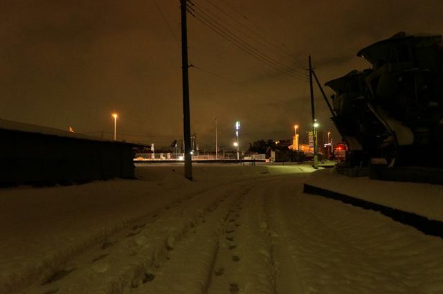 午前3時過ぎの東京日野、旧田園地帯
