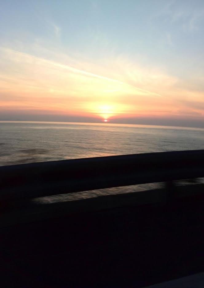 若狭湾の夕暮れ