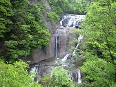 袋田の滝5月-1